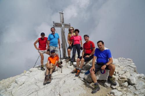 Il gruppo trek in Val Fiscalina e nel Vallon Popera